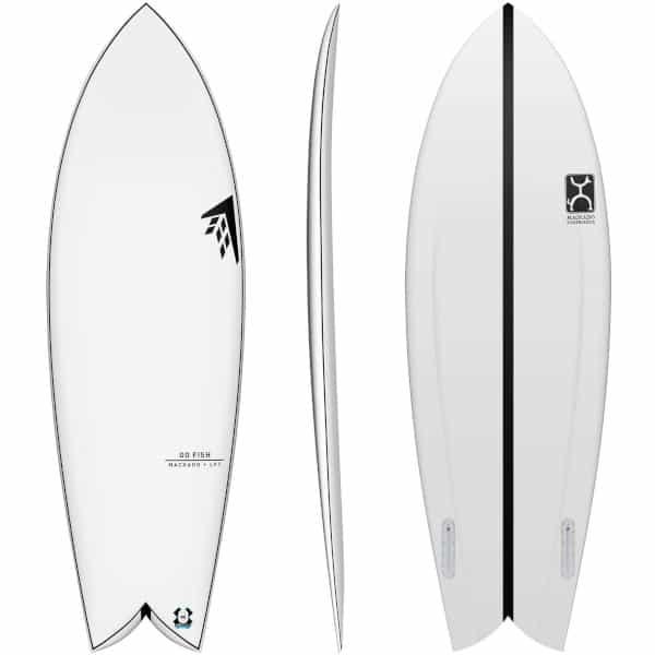 Tipos de tablas de surf fish