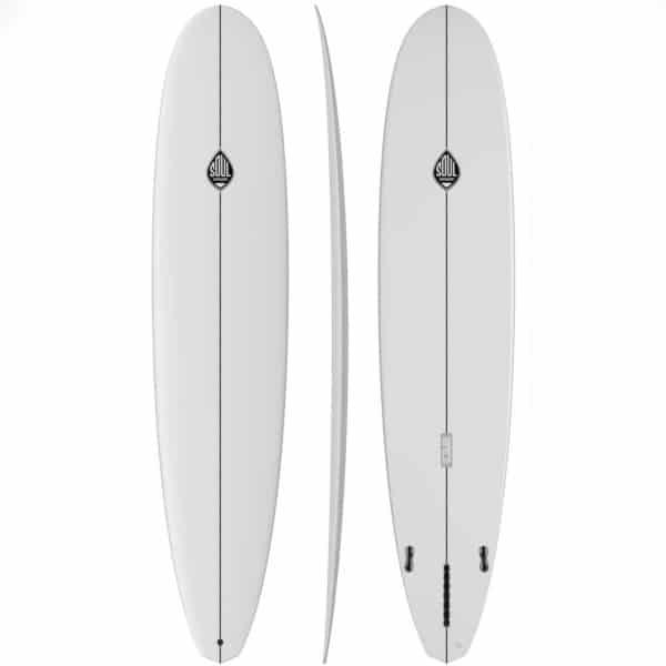 Tipos de tablas de surf longboard