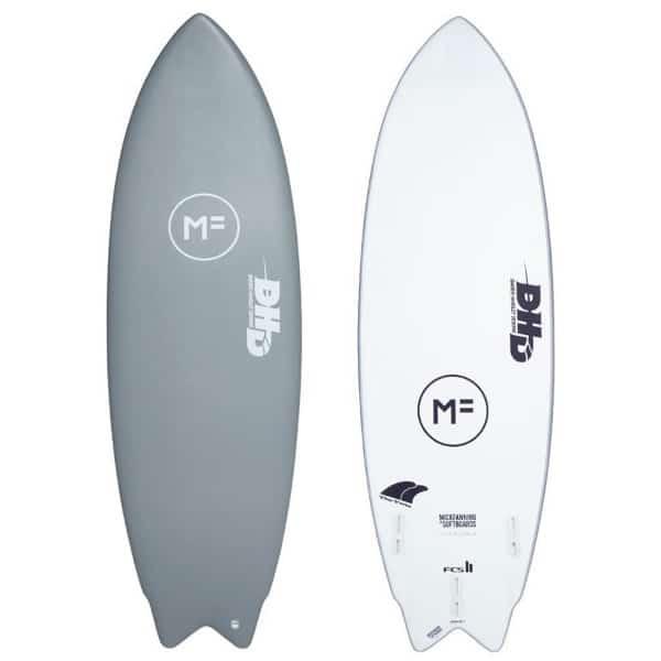 Tipos de tablas de surf softboard