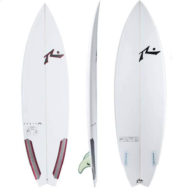 Tipos de tablas de surf twin fin