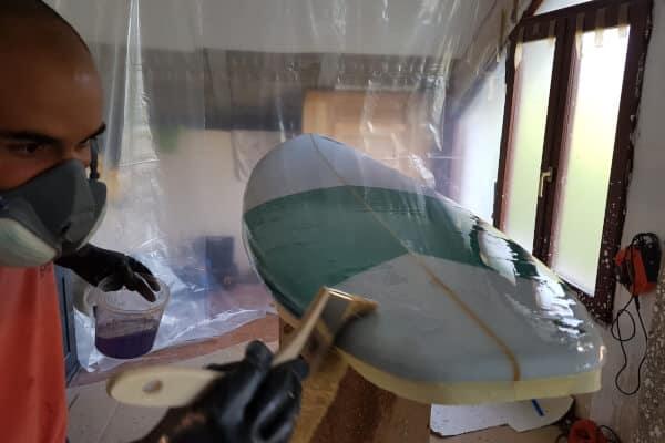 estireno parafinado surf