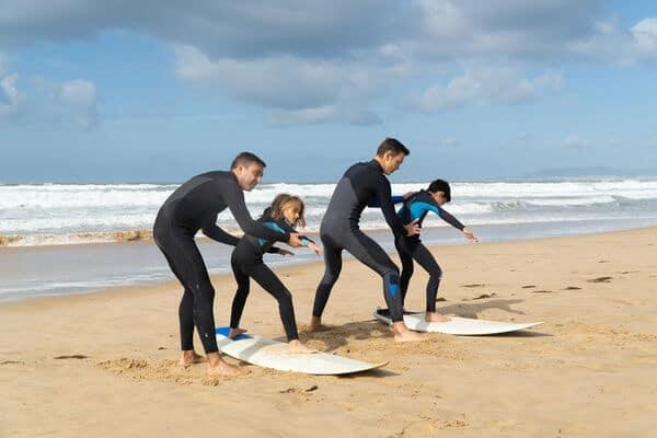 nivel surf